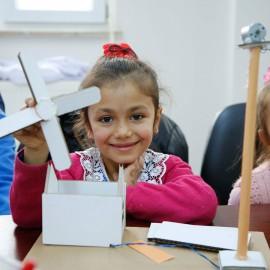'Children Enlightened by Wind'