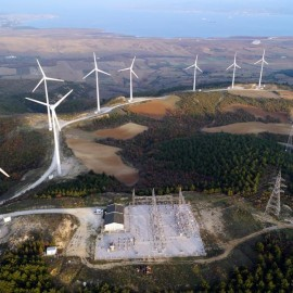 Türkiye'nin En Büyük Rüzgar Enerji Santrali Olan Geycek RES Açıldı