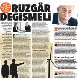 Adnan Polat: 'Rüzgar Değişmeli'