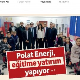 Polat Enerji Invests In Education
