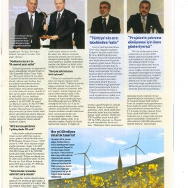 Turkey's Largest Wind Power Plant, Geycek WPP Was Commissioned