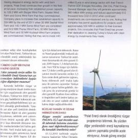 POLAT Enerjide Rüzgarla Fark Atıyor