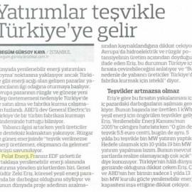 Yatırımlar Teşvikle Türkiye'ye Gelir